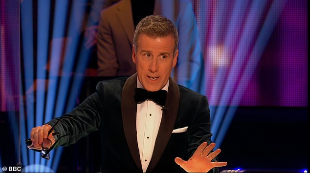 Changing roles: The 55-year-old dancer, who replaced Bruno Tonioli, appeared pleased to criticize the new line-up of celebrities
