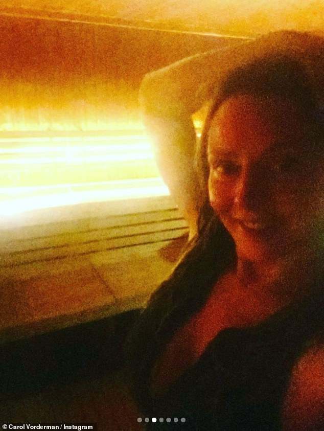 Incredible: She's no stranger to posing for a sizzling selfie