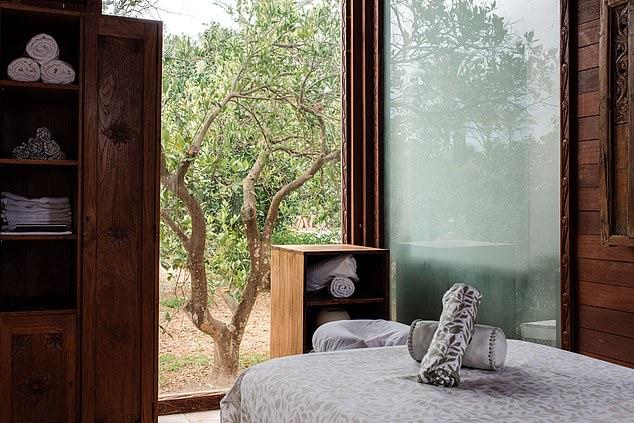 Enjoy a hot stone or deep tissue massage at theAtzaró spa