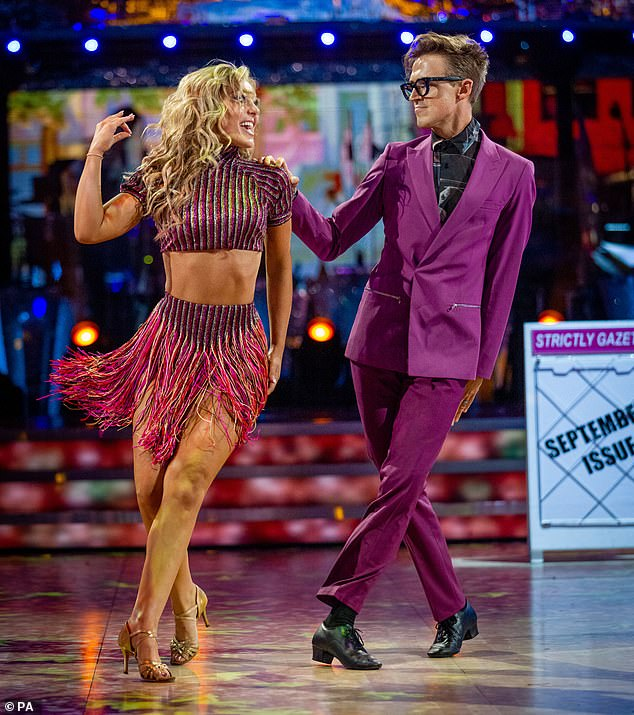 Shock:Strictly Come Dancing stars Tom Fletcher, 36, and Amy Dowden, 31, will miss next Saturday's instalment of the show after testing positive for COVID-19