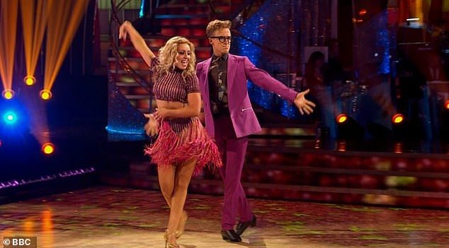 Hope: The source continued: 'While they will both miss Saturday's live show, Strictly Come Dancing protocols mean that all being well, they will return the following week'