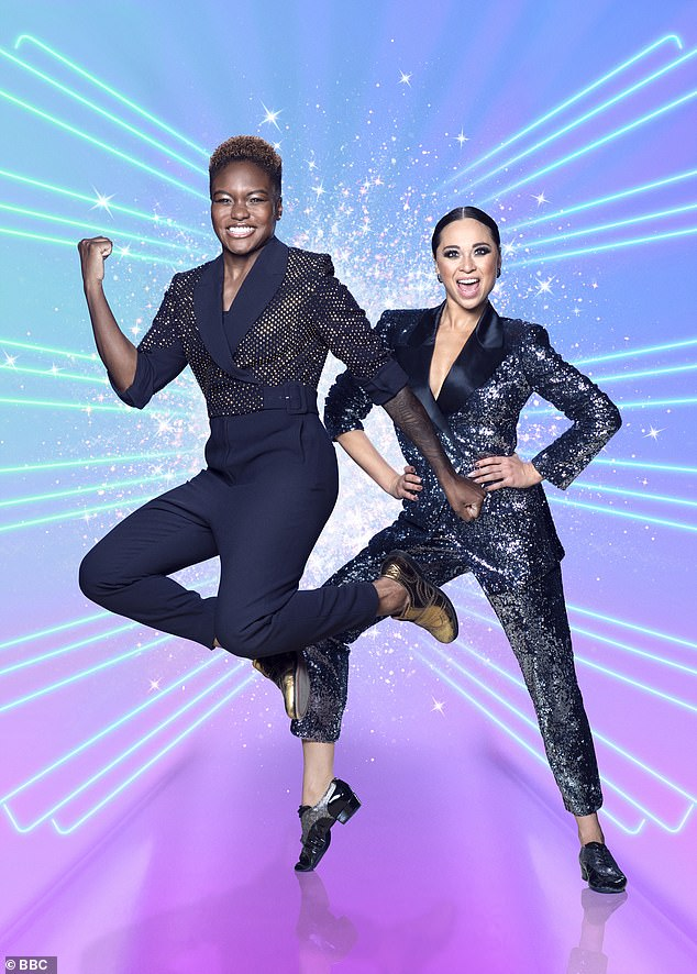 Axe: Last year Nicola Adams and Katya Jones were forced to pull out of the show after testing positive for Covid, as isolation rules meant they had to miss two live shows