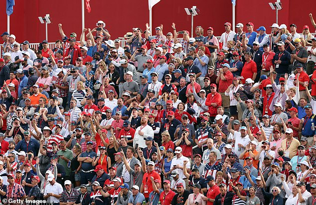 There was no repeat of the Miracle at Medinah as USA fans celebrated their team's triumph