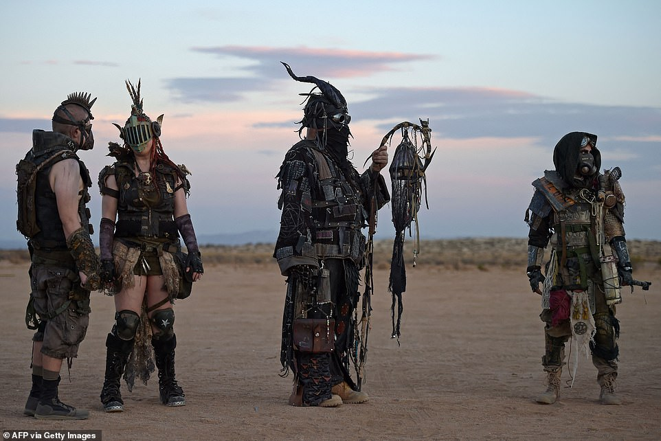 The festival encourages costumes that are in-line with the theme, but nothing outside of it