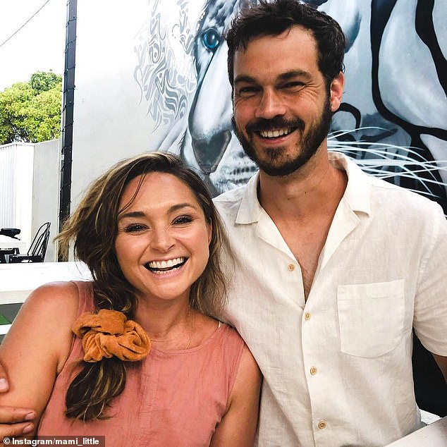 New chapter: Marni and David welcomed a son named Charlie in May 2019