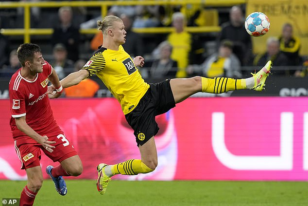 The Norwegian forward has been in sensational form this season with 11 goals in eight matches