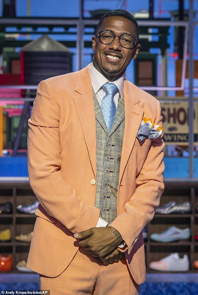 Wow!  The father of seven Nick Cannon has revealed that he will 'take a break' from having children after his therapist recommended celibacy ... after the father of seven welcomed three new additions in June (pictured in 2021)