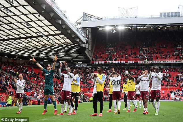 Aston Villa also claimed a shock and dramatic 1-0 victory at Manchester United this weekend