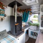 Couple tired of high-pressure jobs spend £23,000 transforming old van into mobile home💥👩💥💥👩💥