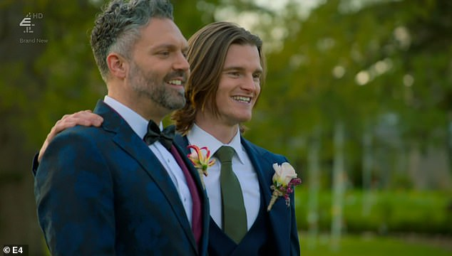 Groundbreaking: The reality show finally featured its first gay couple in Matt, 39, and Danielle, 27, six years after it went on air.
