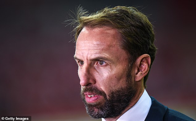 England manager Gareth Southgate was the one who expressed doubts about 'Game 39'