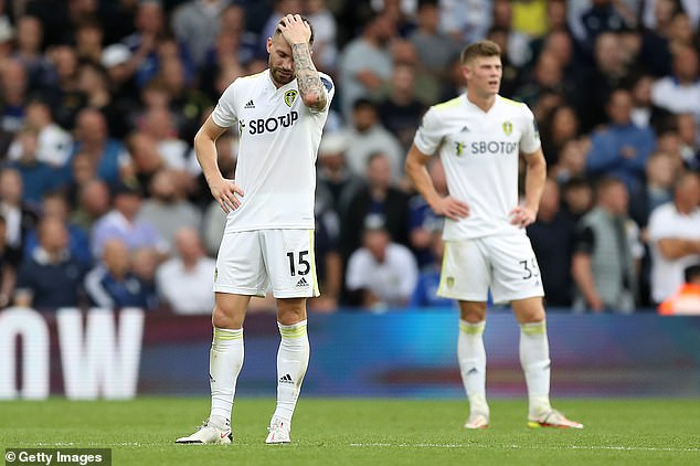 Leeds are still without a Premier League victory this season after a 2-1 home loss to West Ham