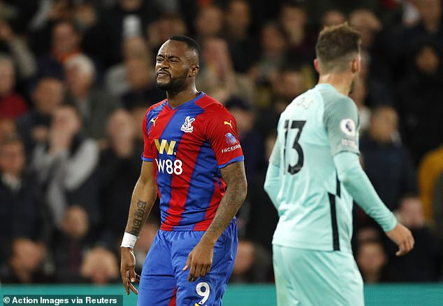 Jordan Ayew missed a big chance on the counter to seal the three points for Crystal Palace