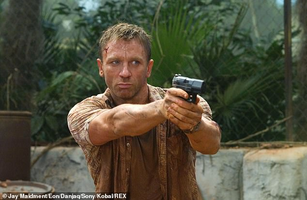 The Real Deal: In an exclusive interview with MailOnline, Shaw said that Craig was so excited while filming Casino Royale that his kicks and punches during fight scenes were real