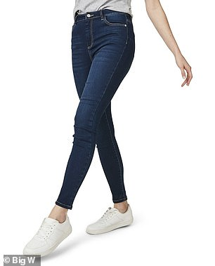 Donny's top picks for skinny jeans include this $30 pair from Big W