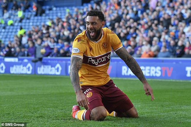 Motherwell (above) were not handed any away tickets for their trip to Rangers due to Covid-19