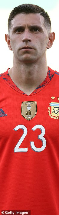 Villa goalkeeper Martinez travels to final qualifier