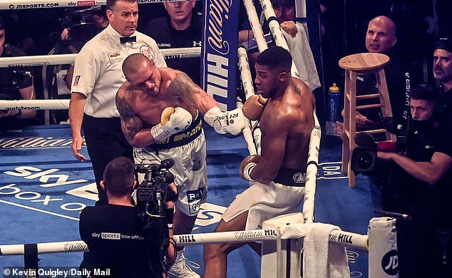 Boxing fans insisted online that Anthony Joshua's fight against Alexander Usyk was stopped early