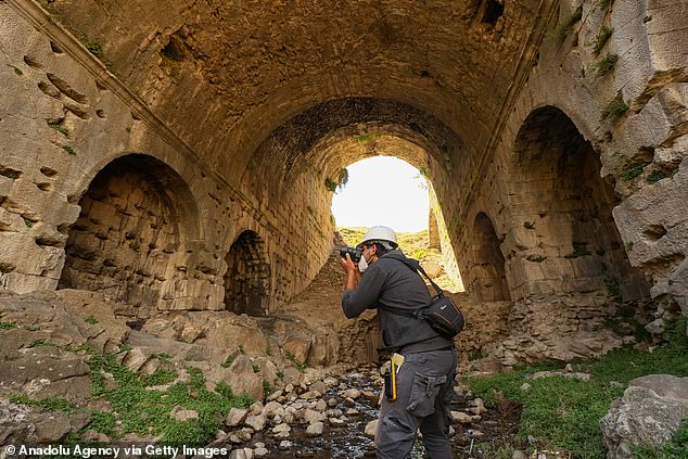 Archaeologists excavating the remarkable amphitheater have discovered five private seating areas and efforts are underway to understand the exact number.
