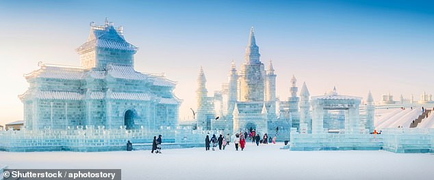 China's Harbin International Ice & Snow Festival, pictured,is held annually from mid-December to late February
