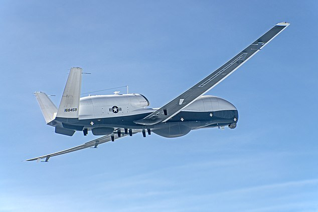 Northrop Grumman is also working on the long-awaited MQ-4C Triton drone, which has been plagued with setbacks.  This drone can spend more than 30 hours in continuous air at 55,000 feet with a top speed of 380 mph