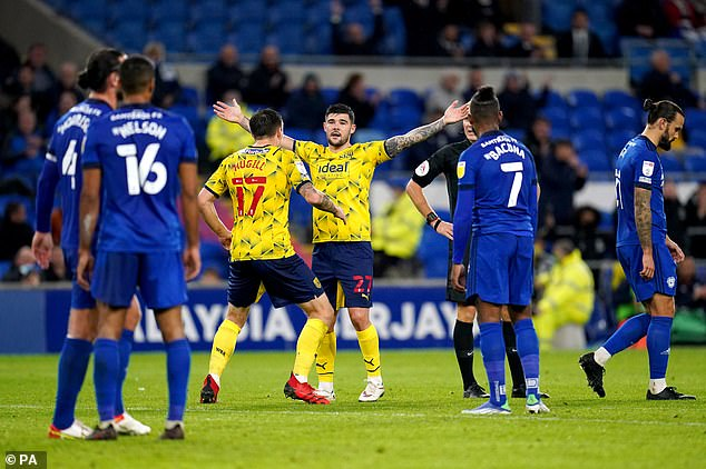 Alex Mowatt's 25-yard half volley with his left foot was the icing on the cake for the visitors