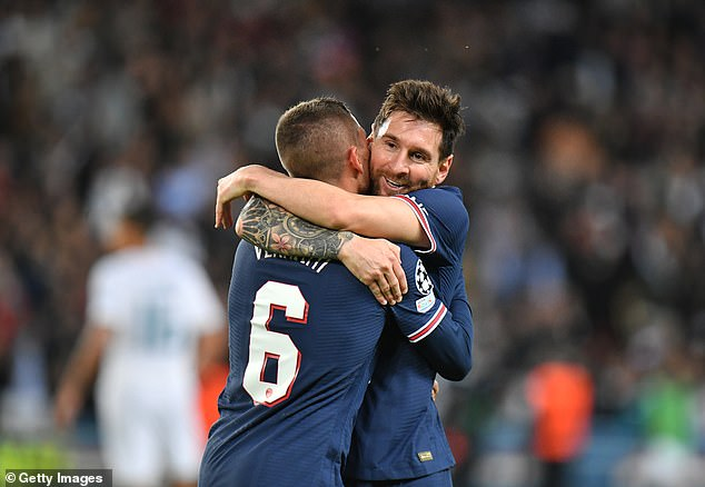 Lionel Messi scored his first goal for Paris Saint-Germain as they beat Manchester City