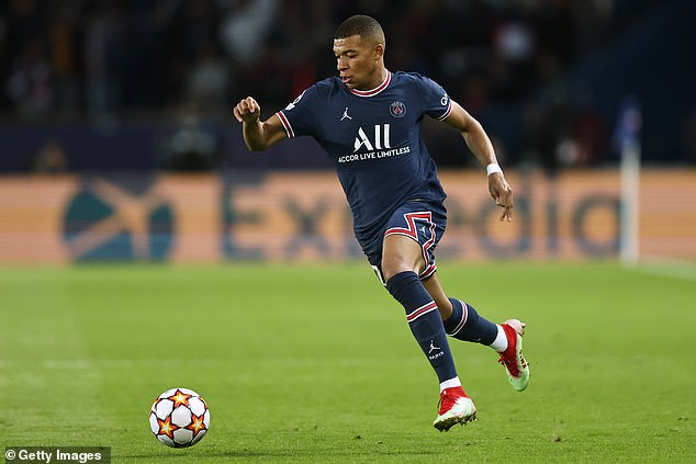 Kylian Mbappe had strong link up play and that was evident for the first goal from the hosts