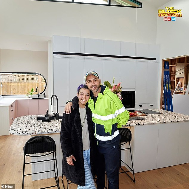 Falling short: The Block's most controversial couple,Tanya and Vito Guccione, did not wow the judges with their kitchen effort