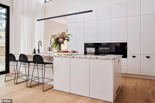 Lacking: 'It's another kitchen that blows you away with the aesthetics, before we drill down into the functionality,' Neale Whitaker said of the layout