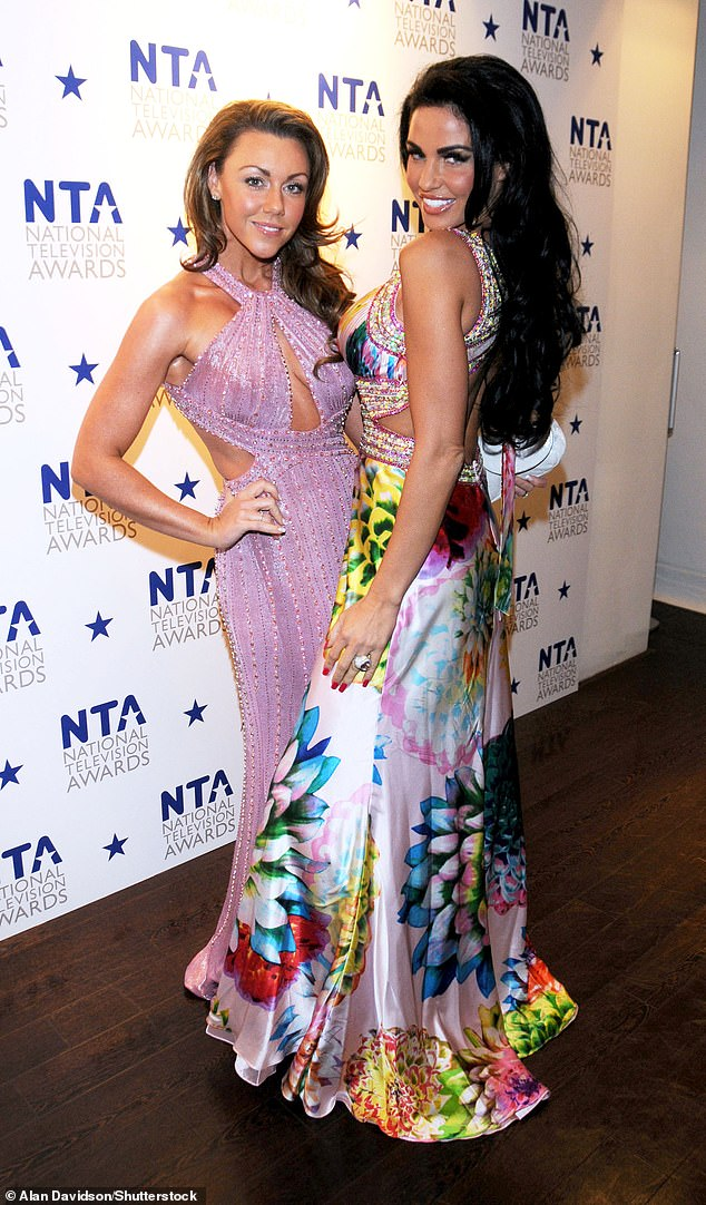 Pala:The Liberty X singer, 42, who herself faced her own drink and drug battle earlier this year, is reportedly 'desperately worried' for the former glamour model, 43, who paid a pivotal role in helping Michelle in her recovery (pictured together in 2009)