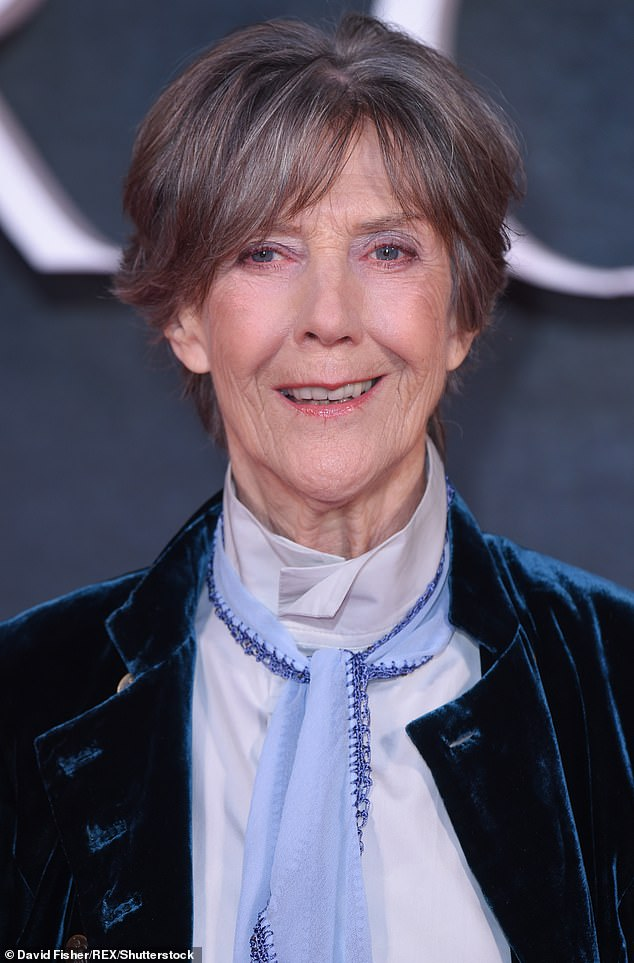 Dame Eileen Atkins, 87, (pictured) said her fellow veterans, who complain about the lack of spares for older women, are in vain and cannot recover from the loss of the great beauty they possessed. bar was