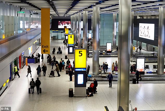 Discount: When Heathrow launches its airport drop-off zone charge, motorists driving with a blue badge will be exempt from the £5 fee.