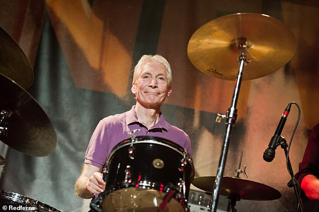 Gone but not forgotten: Mick described Charlie (pictured) as the 'heartbeat' of the group, saying he was a pleasure to work with