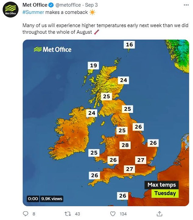 This past month, after a largely benign summer, Britain's weather offered yet another surprise by bringing a heatwave that was abruptly halted by a thunderstorm and more heavy rain