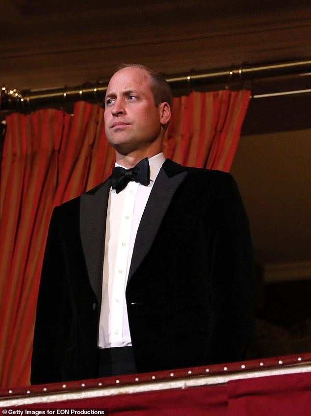 Prince William (pictured) 'has stepped up' following the Duke of Edinburgh's death and is the one 'paving the way forward' for the British monarchy, rather than his father Prince Charles, a royal expert has claimed