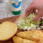 Fitness coach Bec Hardgrave reveals how to make a McChicken using budget buys from Aldi💥👩💥💥👩💥