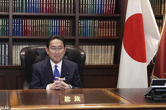 Former Foreign Minister Fumio Kishida Prime Minister of Japan.  Yoshihide will replace Suga on Monday as