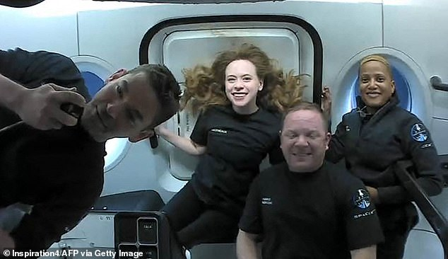 The event comes just two weeks after another Dragon capsule returned to Earth - but it brought back the first all-civilian space mission.  The Inspiration 4 Crew - Jared Isaacman, Hayley Arsinaux, Sean Proctor and Chris Sambrowski