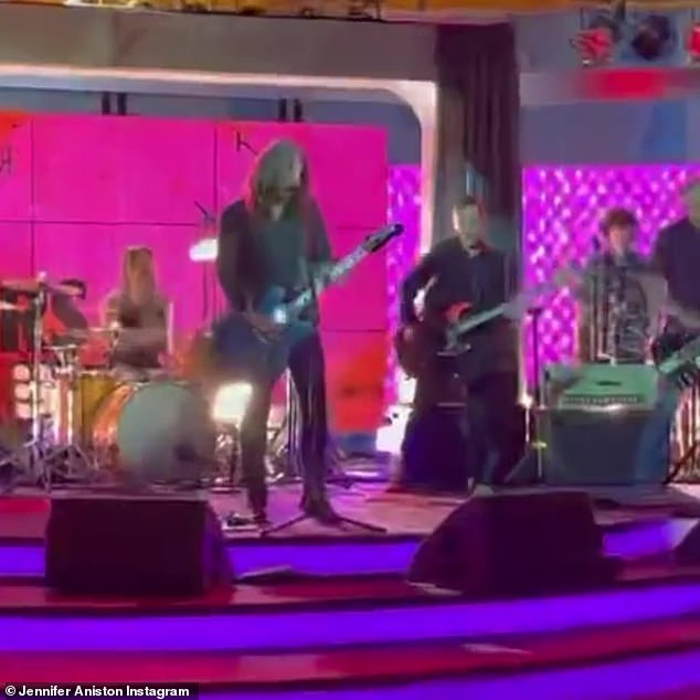 rock on!  The evergreen hit makers stun the stage in the video of their performance