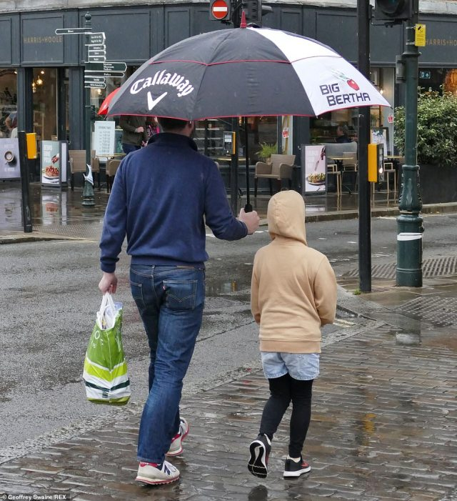 The heavy rain is expected to move north eastwards across England and Wales with further heavy showers expected in Scotland and Northern Ireland