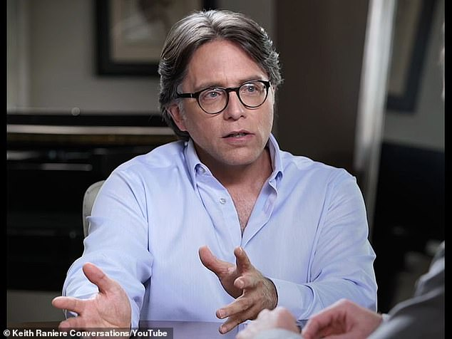 Keith Raniere, 61, was the leader of Nxivm, a so-call self-help group, in Albany, New York