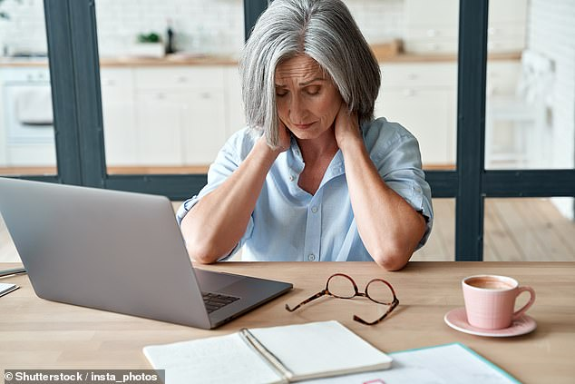 PwC confirmed it will be providing guidance for line managers on how to broach the subject with anyone who wishes to discuss the menopause (stock image)