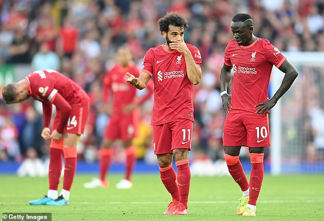 Liverpool duo of Mo Salah and Sadio Mane were both isolated after positive tests