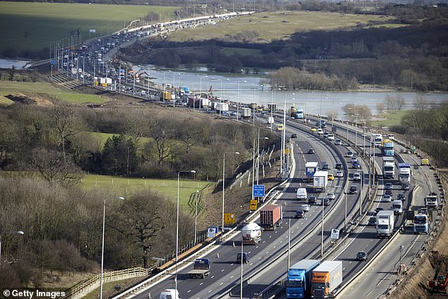 Toby Ovens, managing director of Broughton Transport Solutions, said he is not convinced a temporary visa scheme will solve the current shortage of HGV drivers (file image)