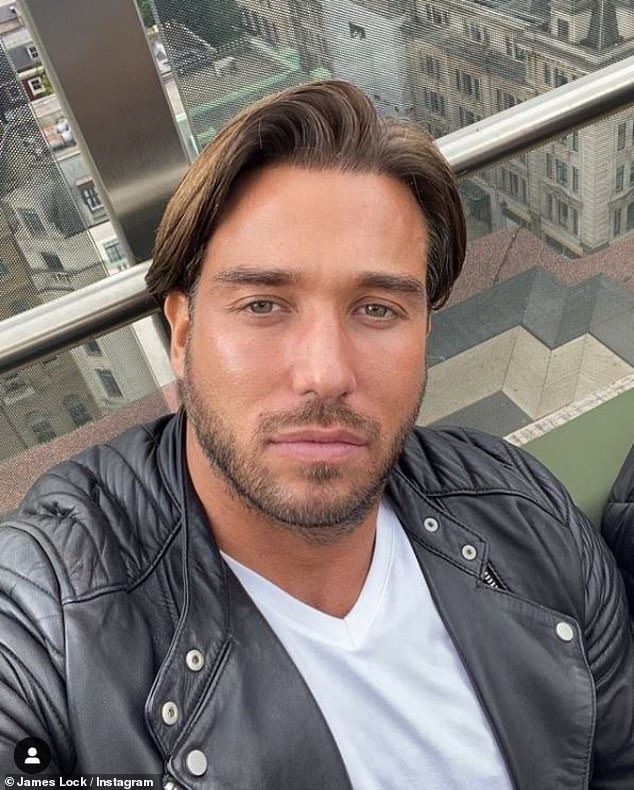 Flirty: Images obtained by The Sun show former Love Island beauty, 27, and TOWIE Hunk, 34, (pictured) exiting Amazonico restaurant in London's luxurious Mayfair district.