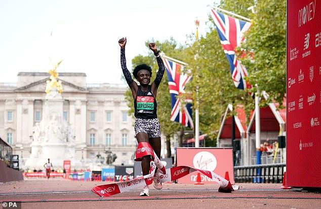 Jepkosgei fue absuelta de su decisión de elegir Londres en lugar de la Maratón de Nueva York
