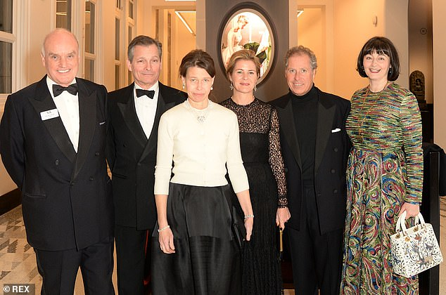 Nicholas Coleridge, president of the Victoria & Albert Museum (pictured at left in 2019), which is co-chairing the pageant, said 6,500 artists will participate on the final day of the ceremony in June. [File photo]