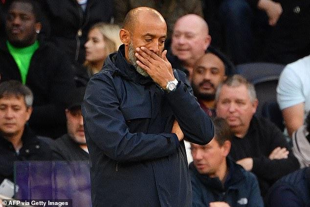 Tottenham could reportedly sack Nuno Espirito Santo if they fail to qualify for Europe this season