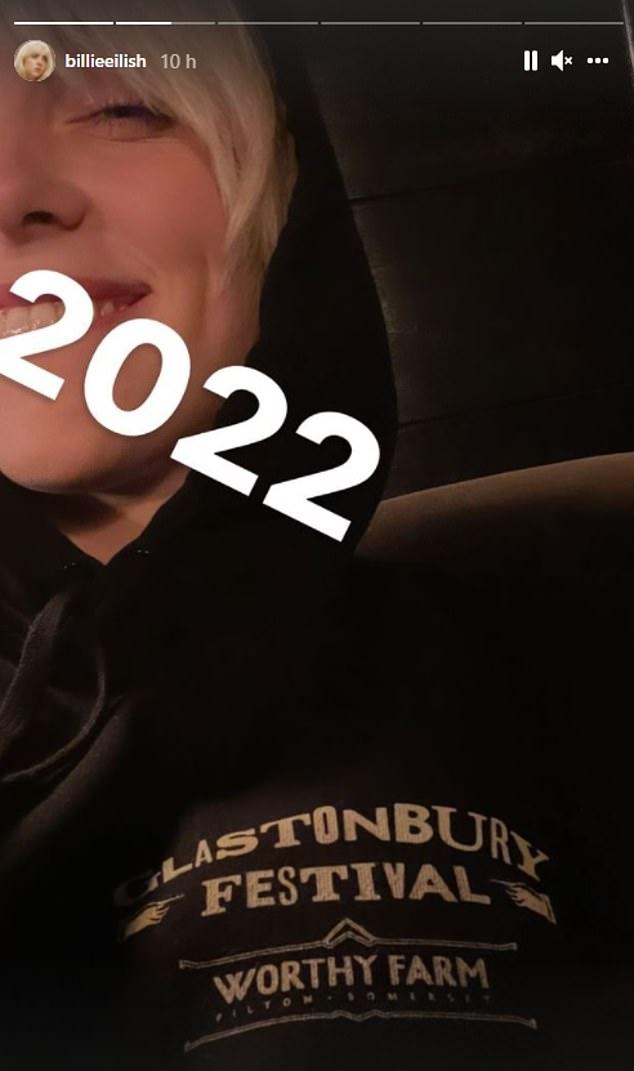 Heading Back: Billie Eilish Confirmed as Headliner for Glastonbury 2022
